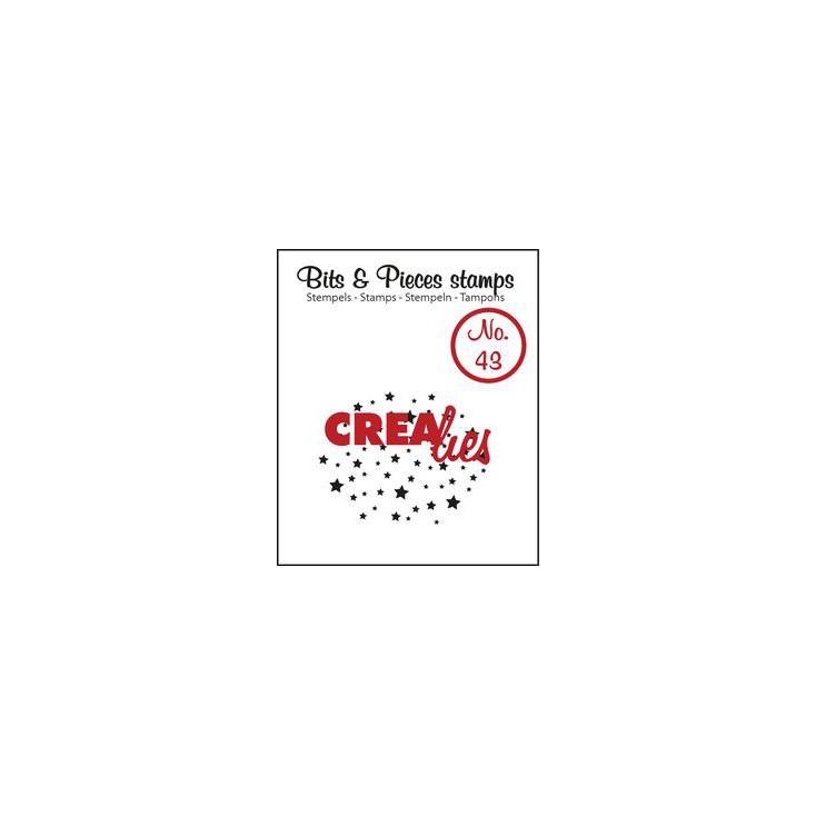 Stempel silikonowy Crealies - Bits & Pieces no. 43