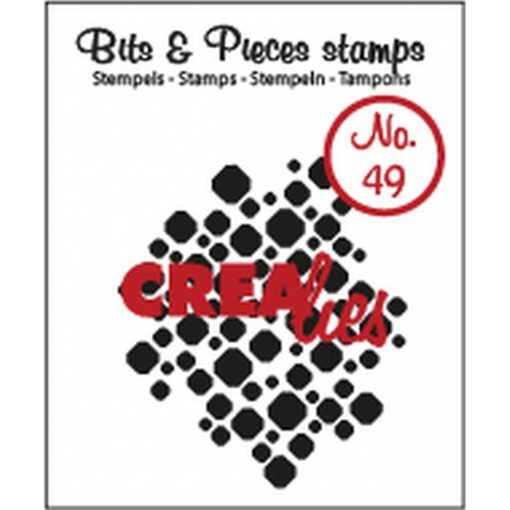 Stempel silikonowy Crealies - Bits & Pieces no. 49