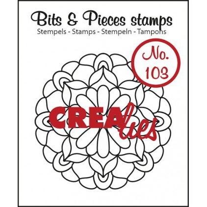 Stempel silikonowy Crealies - Bits & Pieces no. 1023