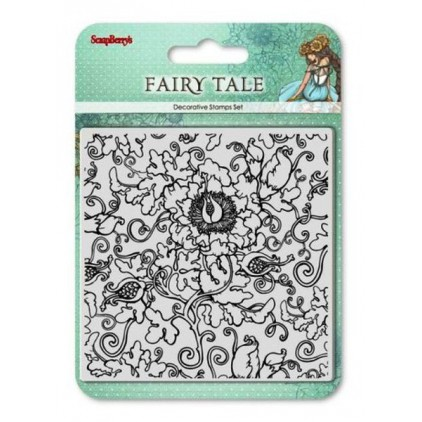 Set of clear stamps - ScrapBerry's Fairy Tale
