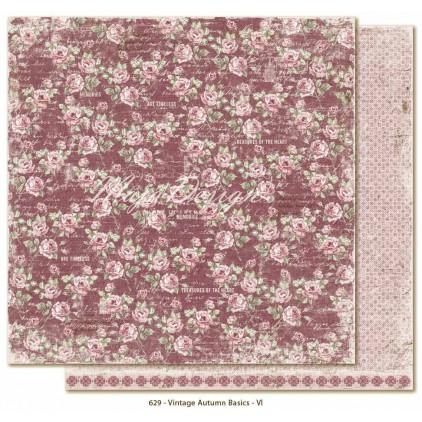 Scrapbooking paper - Maja Design Vintage Autumn Basics no. VI