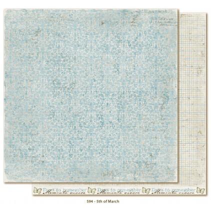 Scrapbooking paper - Maja Design - Vintage Spring Basics - 5th of March