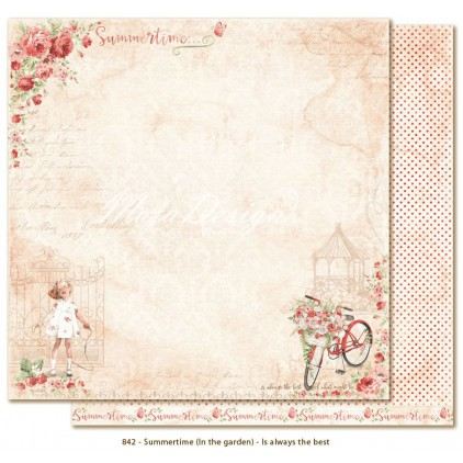 Scrapbooking paper - Maja Design - Summertime - Is always the best