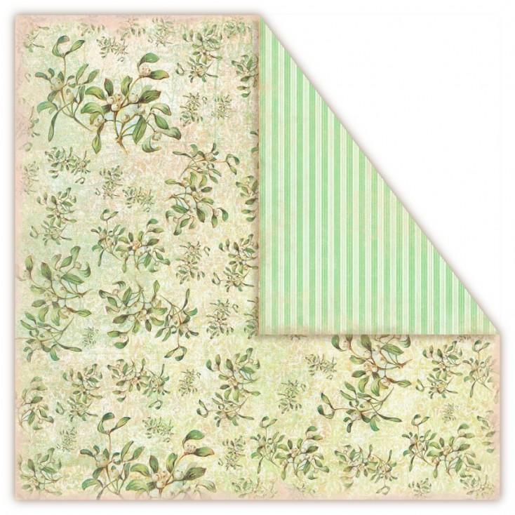 Scrapbooking paper - UHK Gallery - Chistmas in Avonlea - mistletoe