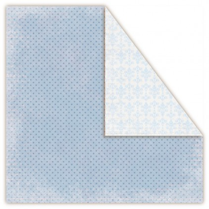 Papier do scrapbookingu - UHK Gallery - Frosty Morning - blizzard