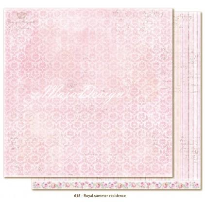 Scrapbooking paper - Maja Design - Sofiero - Royal summer residence