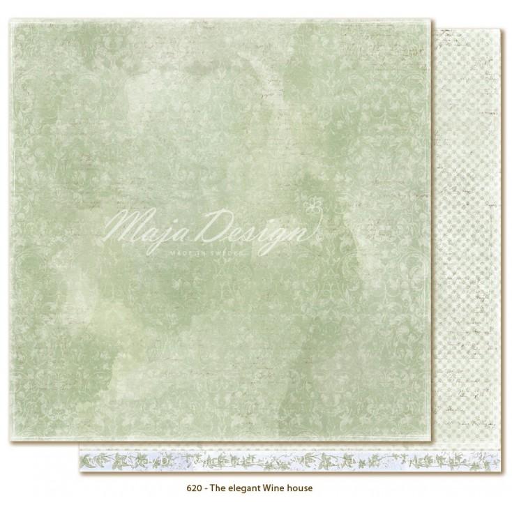 Scrapbooking paper - Maja Design - Sofiero - The elegant Wine house