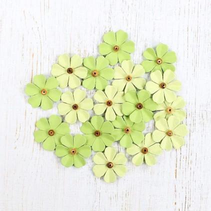 Paper flower set - Beaded Fancies Olive Fern