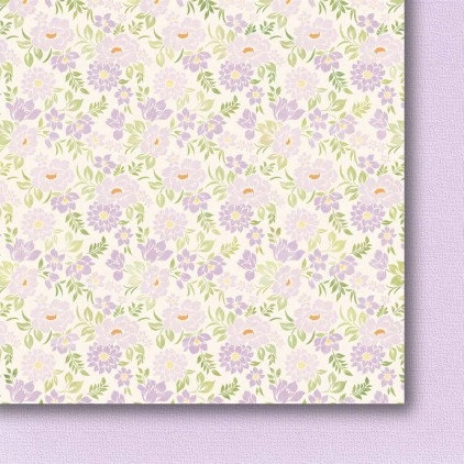 Galeria Papieru - Scrapbooking paper - Colorful meadow - pastel - 03
