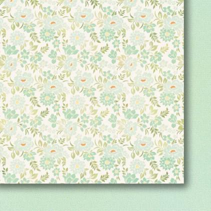 Galeria Papieru - Papier do scrapbookingu - Kolorowa łąka - pastele - 04