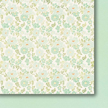 Galeria Papieru - Scrapbooking paper - Colorful meadow - pastel - 04