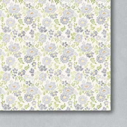 Galeria Papieru - Scrapbooking paper - Colorful meadow - pastel - 06