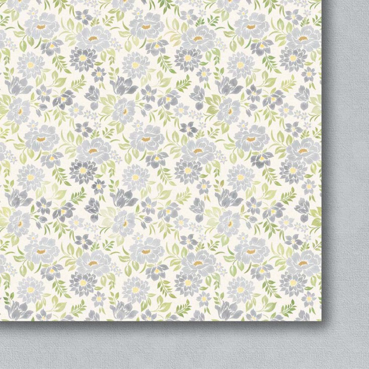 Galeria Papieru - Scrapbooking paper - Colorful meadow - pastel - 06