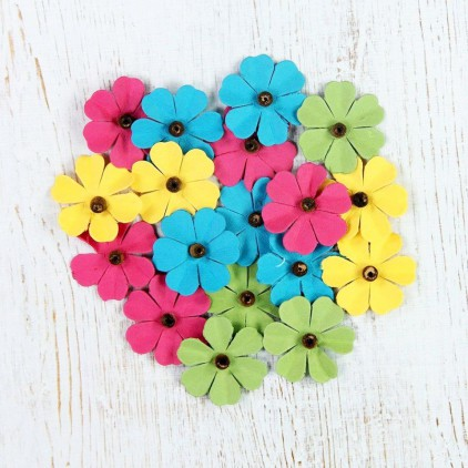 Paper flower set - Beaded Fancies Candy Crush