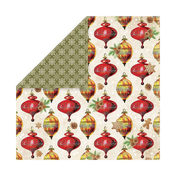 Craft and You Design - Scrapbooking paper - Vintage Christmas 06