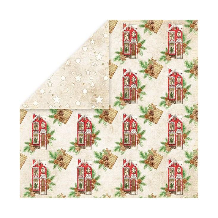 Craft and You Design - Papier do scrapbookingu - Vintage Christmas 04