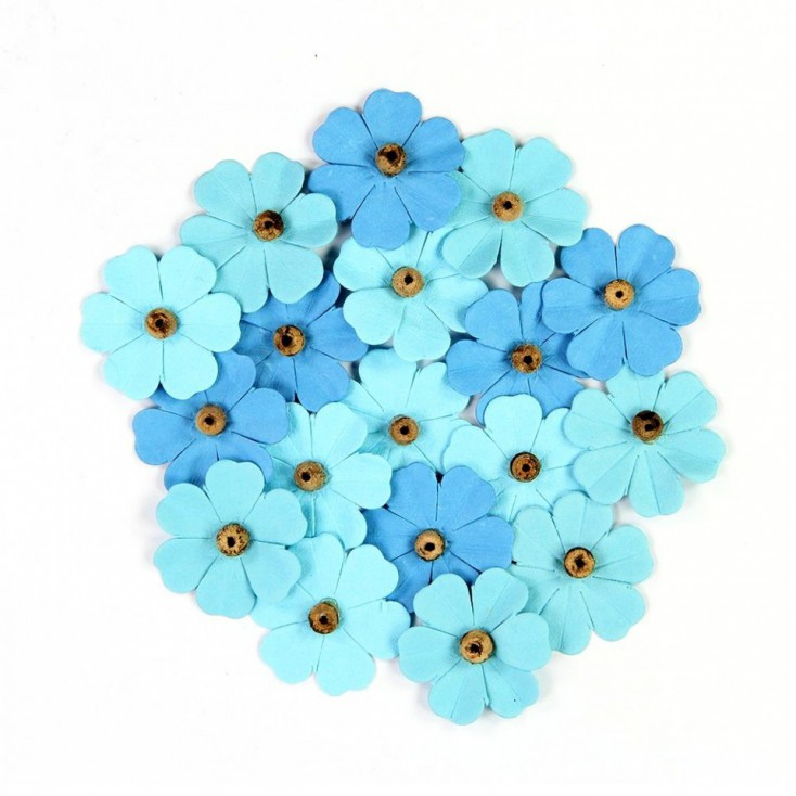 Paper flower set - Beaded Fancies Ocean Spray