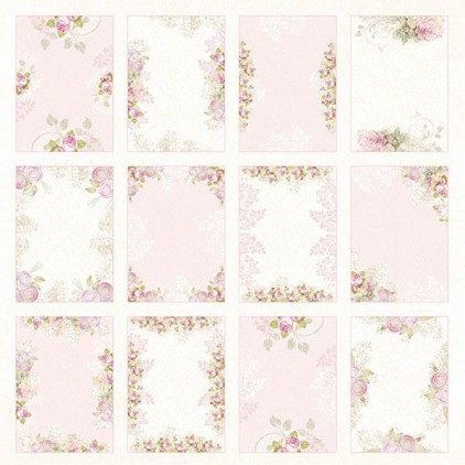 Craft and You Design - Scrapbooking paper - White Day -07