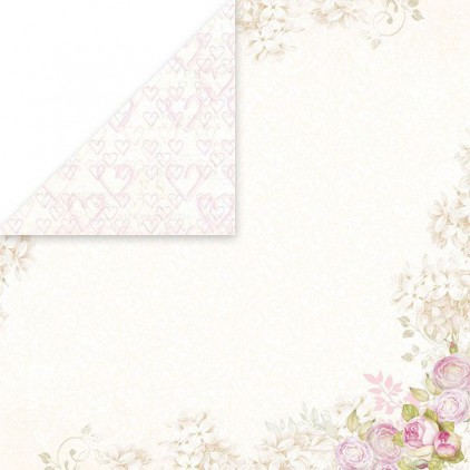Craft and You Design - Scrapbooking paper -White Day -05