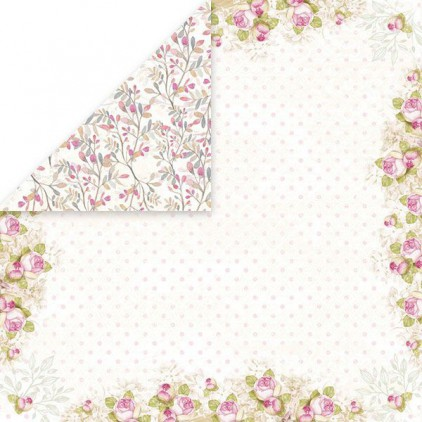 Craft and You Design - Scrapbooking paper -White Day -04