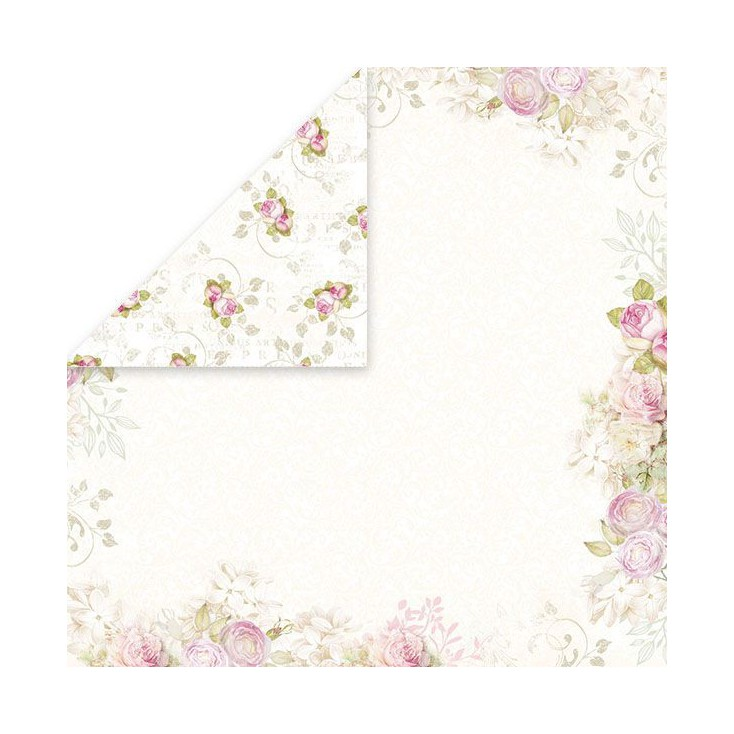 Craft and You Design - Scrapbooking paper -White Day -01