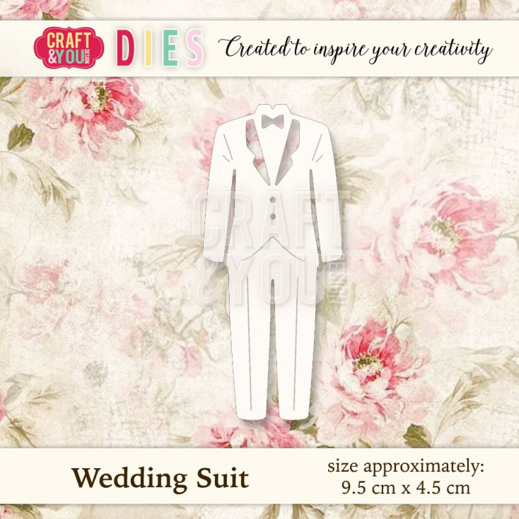 Craft and You Design Die - Wedding Suit