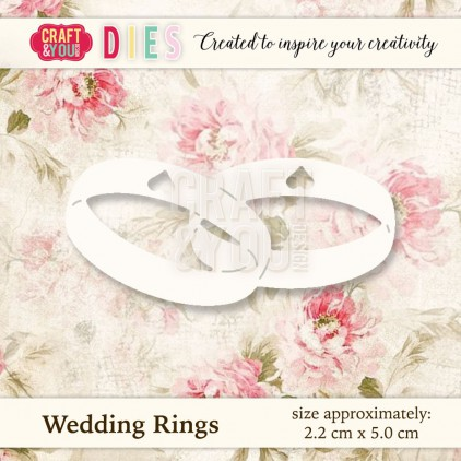 Craft and You Design Die - Wedding Rings
