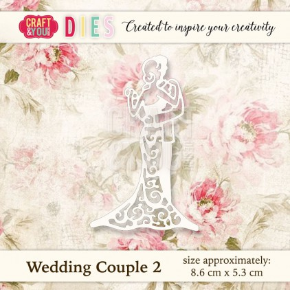 Craft and You Design Die - Wedding Couple 2