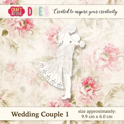 Craft and You Design Die - Wedding Couple 1
