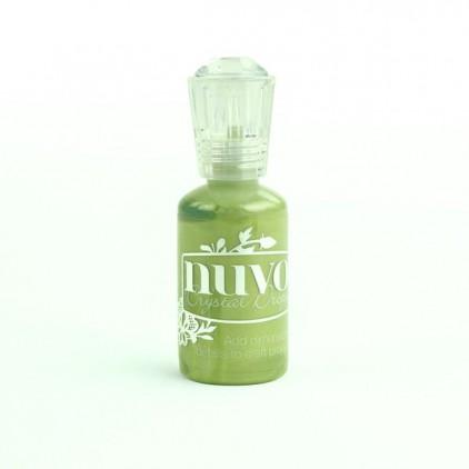 Nuvo - Crystal Drops - Bottle Green 682N