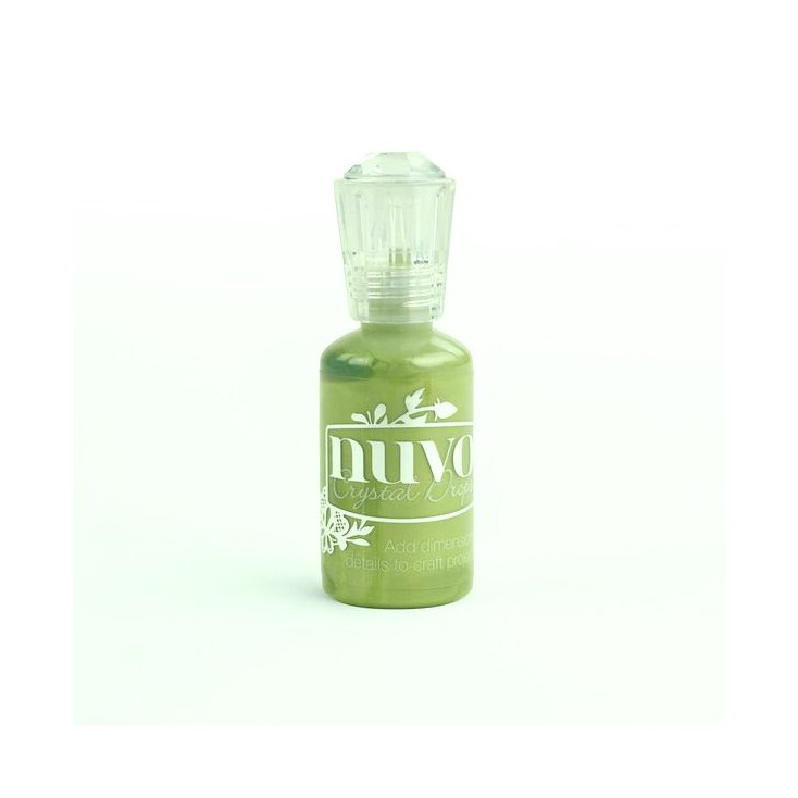 Nuvo - Crystal Drops - Bottle Green 682N