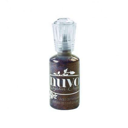 Nuvo - Glitter Drops - Chocolate fondue 764N