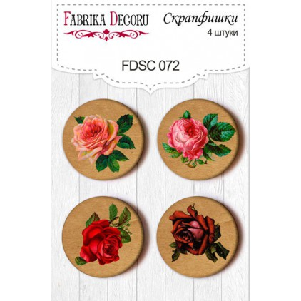Selfadhesive buttons/badge - Fabrika Decoru 072