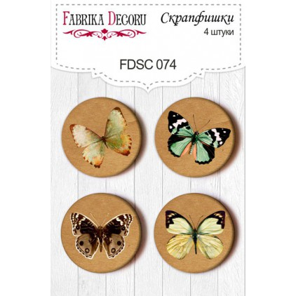 Selfadhesive buttons/badge - Fabrika Decoru 01