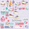 Scrapbooking paper - Fabrika Decoru - Candy Shop - Pictures for cutting
