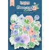 Set of die cuts - Fabrika Decoru - Flower mood - 63pcs