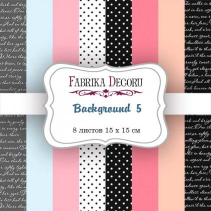 Mały bloczek papierów do tworzenia kartek i scrapbookingu - Fabrika Decoru - Sensual love - uzupełnienie