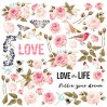 Scrapbooking paper - Fabrika Decoru - Sensual love - Pictures for cutting