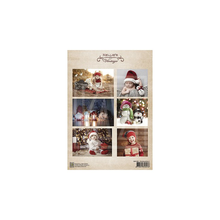 Scrapbooking paper - Nellie's Choice - Christmas Time 02