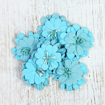 Paper flower set -Lilliana Flower Ocean Spray