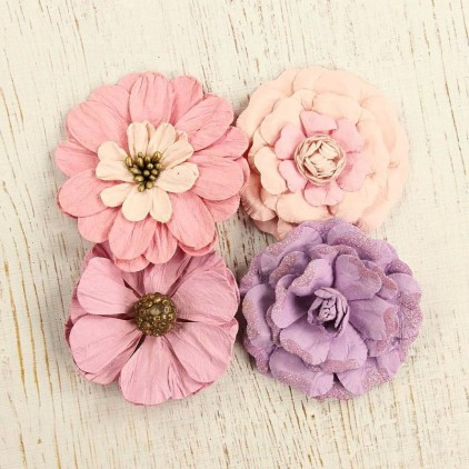 Paper flower set - Camden Cottage Soft touch