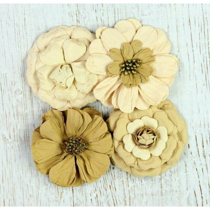 Paper flower set - Camden Cottage Vintage