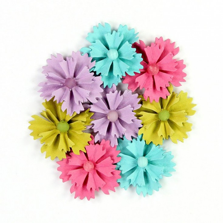 Paper flower set - Jewelled Daisies party