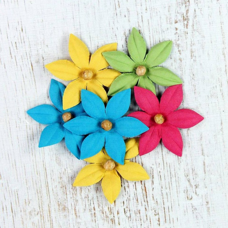 Paper flower set - Beaded Lilies Candy Crush