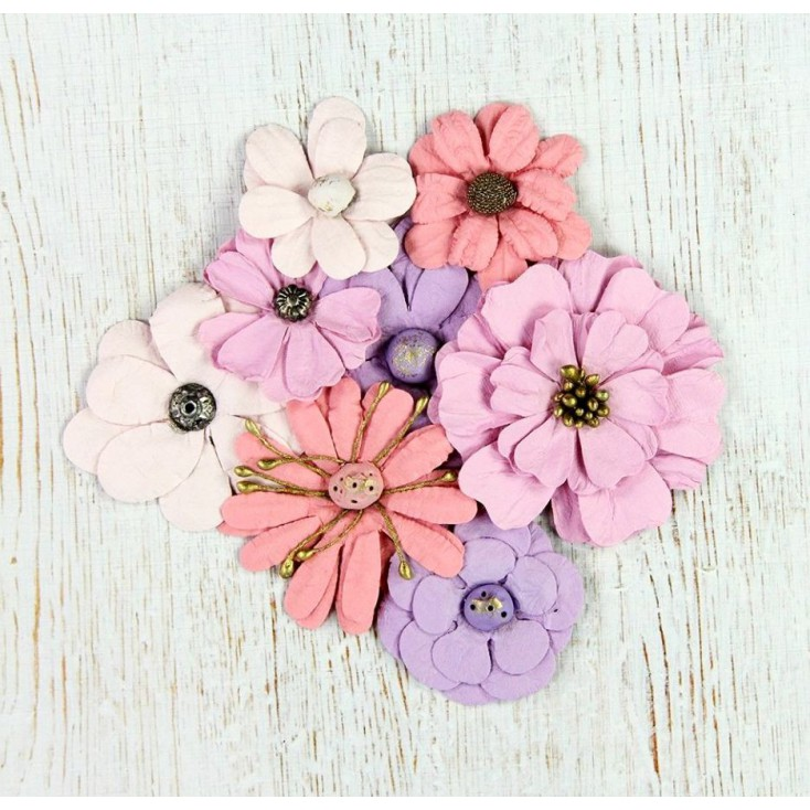 Paper flower set - Symphony Flowers Soft Touch