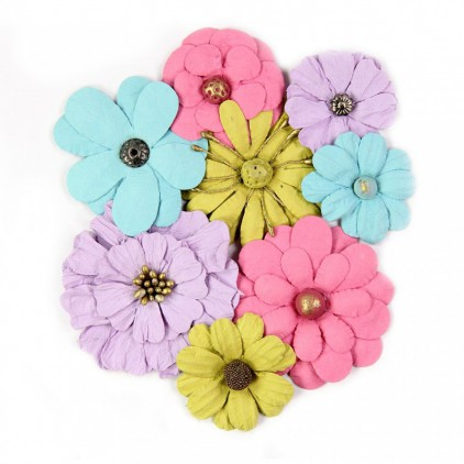 Paper flower set - Symphony Flowers Party