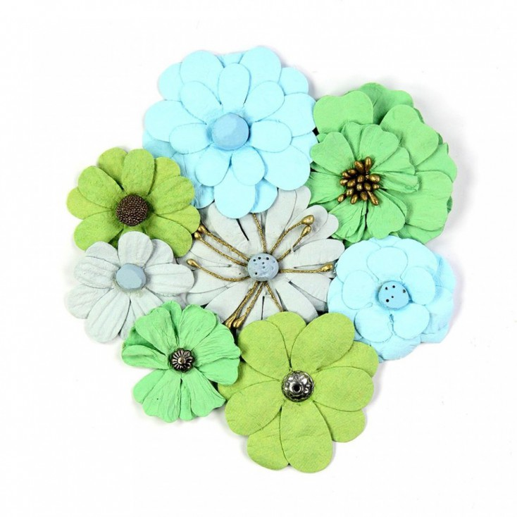 Paper flower set - Symphony Flowers Bubble Gum