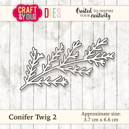 Craft and You Design Die - Conifer Twig