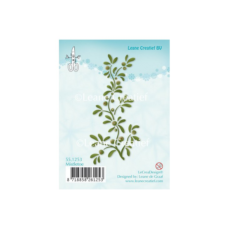 Set of clear stamps - LeCreaDesign - Mistletoe