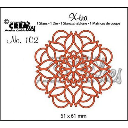 Wykrojnik serwetka - Creallies Xtra - 102